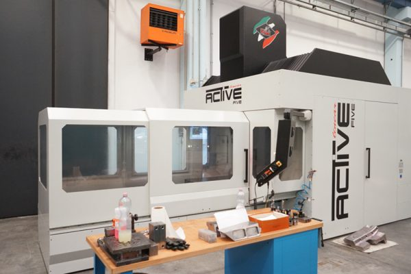 SEPTEMBER 2013: milling machine OMV ACTIVE FIVE LINEAR