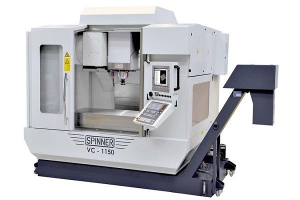 APRIL 2016: MILLING MACHINE SPINNER VC-1150 INSTALLED