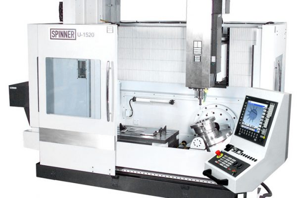 DECEMBER 2015: MILLING MACHINE SPINNER U-1520 INSTALLED