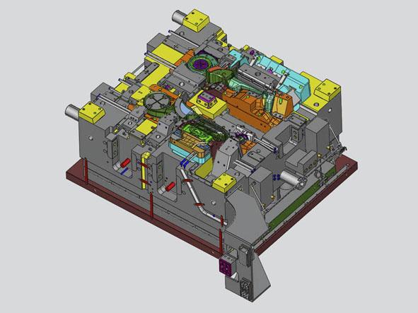 Stampi per componenti plastici | Brescia | Progetti | Claren Tools