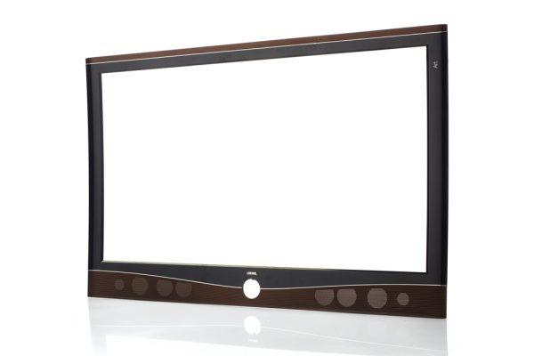 Schermo TV in plastica