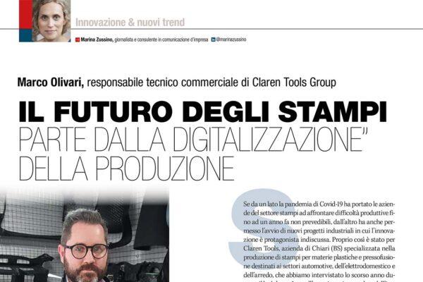 IL FUTURO DEGLI STAMPI PARTE DALLA DIGITALIZZAZIONE DELLA PRODUZIONE